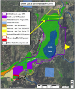 Smith Lake wetland complex conservation
